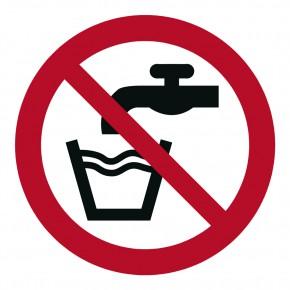 Verbotsschild Kein Trinkwasser - P005