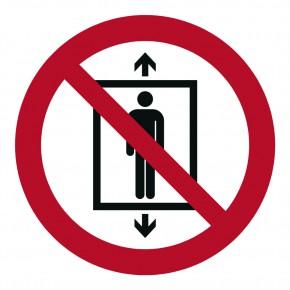 Verbotsschild Personenbeförderung verboten - P020