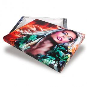 Ihr Foto auf PicFrame 50 x 40 cm - Kunstdruck auf Kartonbogen