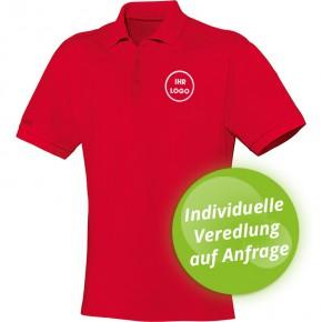 JAKO Polo Shirt Team Herren / Kinder - rot