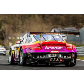 Kremer Porsche Motiv 8 - AluDibond Wandbild