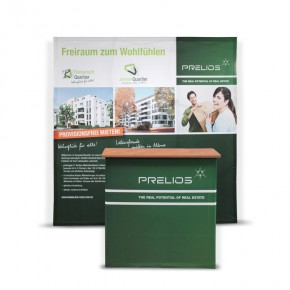 Textil-Promotionstand