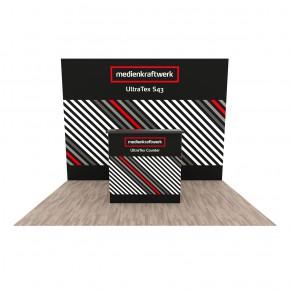 Promotionstand Set 8 - Textil Faltdisplay, Werbetheke