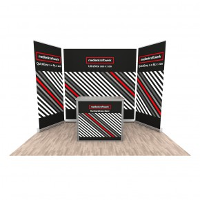 Promotionstand Set 9 -  RollUp - Displays und Promotiontheke