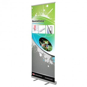 QuickEasy ® 85/200 Set - das günstige RollUp Display