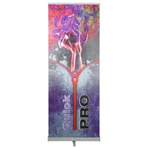 QuickPro 100/220 das flexible RollUp-Display