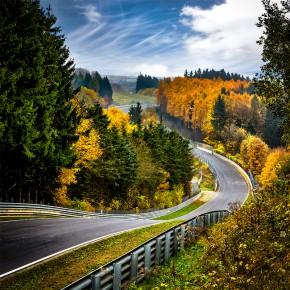 Quiddelbacher Höhe - Nürburgring - Wandbild
