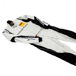 Sponsorendruck auf Rennsportbekleidung