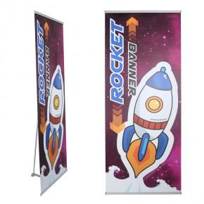 RocketBanner 80cm Bannerdisplay