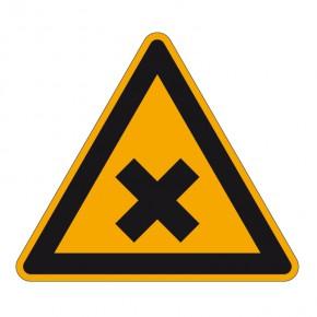 Warnschild Schädliche Stoffe