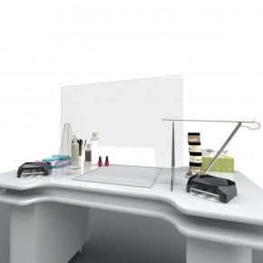 Spuckschutz / Niesschutz / Hygieneschutz - Nagelstudio - 80 x 60 cm