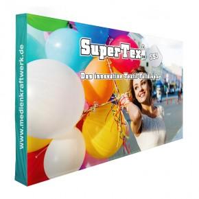 SuperTex® 2.0 53 gerade inkl. Seitenabschluss Textilfaltdisplay