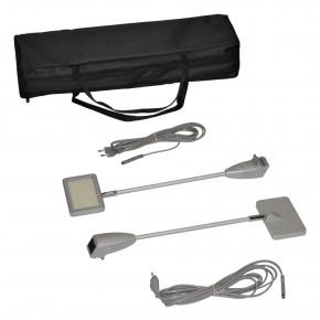 LED-Strahler für Faltdisplay SuperTex 2.0 silber