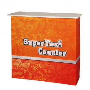 SuperTex Counter 2.0 Set Textil Werbetheke