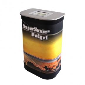 Thekenplatte SuperSonic Box I silber für iPad 2