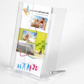 Twister Box DIN A5 Tisch-Prospektständer