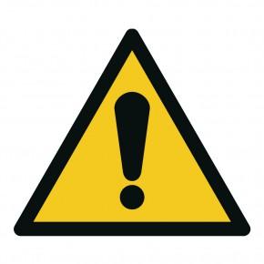 Warnschild Warnung vor einer Gefahrenstelle - W001