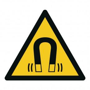 Warnschild Warnung vor magnetischem Feld - W006