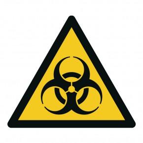 Warnschild Warnung vor Biogefährdung - W009