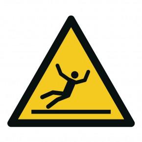 Warnschild Warnung vor Rutschgefahr - W011