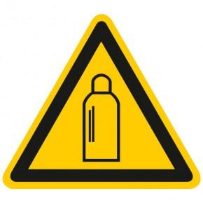 Warnschild Warnung vor Gasflaschen