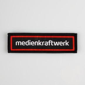 Weblabel / Web-Patch / Aufnäher mit Ihrem eigenen Logo oder Design gestalten - Beispiel