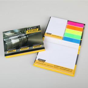 Haftnotizblock mit Hardcover Umschlag