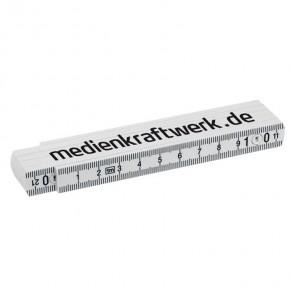 Zollstock 1 m Weiß