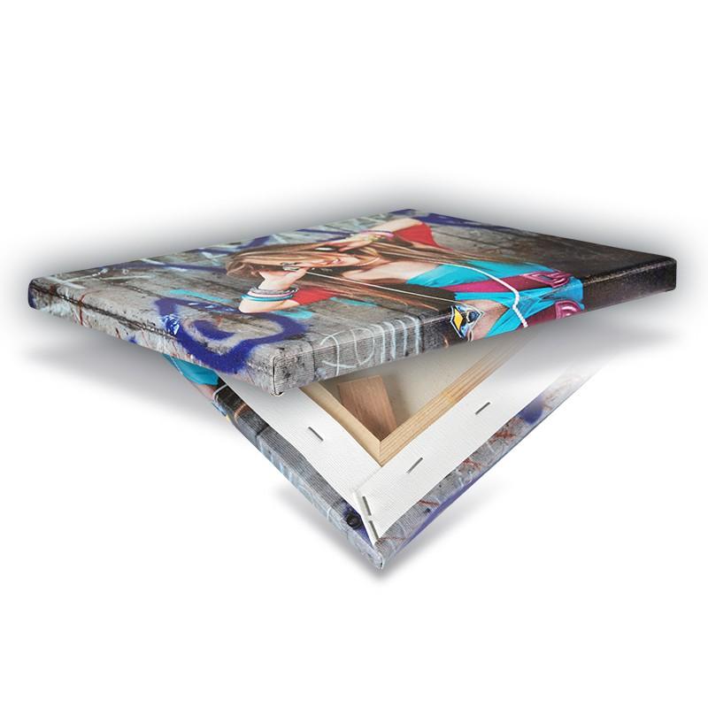 ihr foto auf leinwand 2cm rahmen hier g nstig bestellen medienkraftwerk. Black Bedroom Furniture Sets. Home Design Ideas