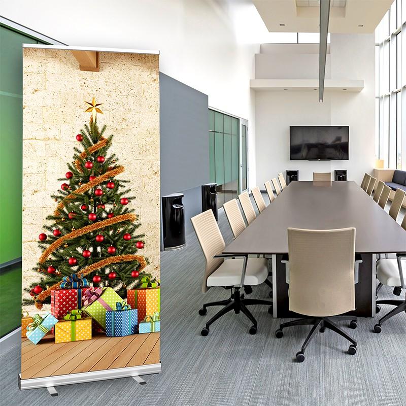 rollup display weihnachtsbaum online g nstig bestellen. Black Bedroom Furniture Sets. Home Design Ideas