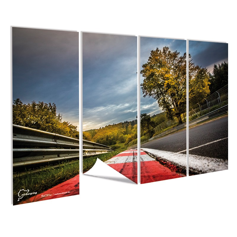 fototapete n rburgring hochwertig online g nstig bestellen medienkraftwerk. Black Bedroom Furniture Sets. Home Design Ideas