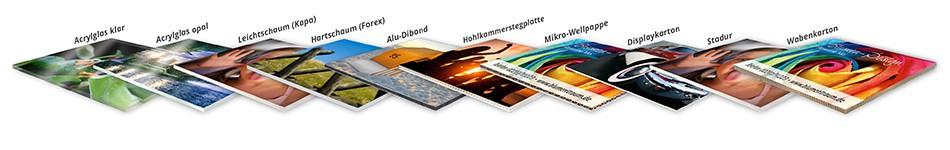 Plattendruck - Werbeschilder online kalkulieren