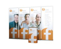 Banner Up Kit - Pop Up Displays, Werbetheke