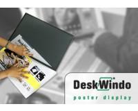 DeskWindo A3 Abdeckscheibe aus PP (leicht milchig) - Posterdisplay
