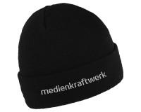 """Beanie """"Band"""" inkl. Logo-Stick - schwarz"""