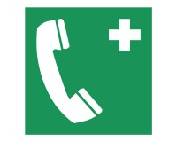 Rettungsschild Notruftelefon - E004