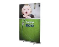 ECO RollUp 120x200cm - das preiswerte Einsteiger RollUp Display