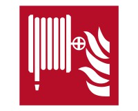 Löschschläuche - F002 - Brandschutzschild