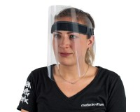 Gesichtsschutz - Anwendungsbeispiel