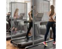 Hygiene-Schutzwand - PVC - Anwendungsbeispiel - Fitnessstudio Gym