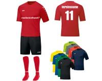 JAKO 15er Trikotsatz Team Erwachsene mit Sponsoring inkl. Teamname und Rückennummer