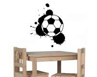 Wandtattoo Fußball