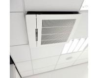 Luftreiniger VisionAir Blue Line 2 MicrobeFree Global - schwarz - Deckenmontage