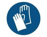 Gebotsschild Handschuhe benutzen - M009