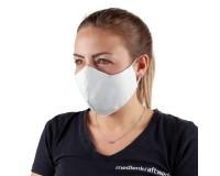 Mund-Nasen-Maske mit Filtertasche weiß (Größe S)