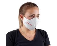 Mund-Nasen-Maske Nürburgring - weiß