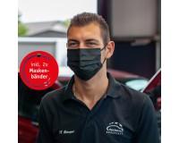 OP-Maske 4-lagig - schwarz - Einweg