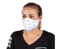 Mund-Nasen-Maske individuell bedruckt 2-lagig mit Nasenbügel
