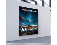 NextExpo LED Leuchtwand Wandmontage