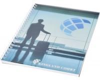 Notizbuch mit Kunststoff Cover und Spiralbindung - DIN A5